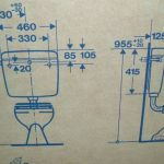 Maße / Abmessungen Schwab Kunststoff Spülkasten 4000