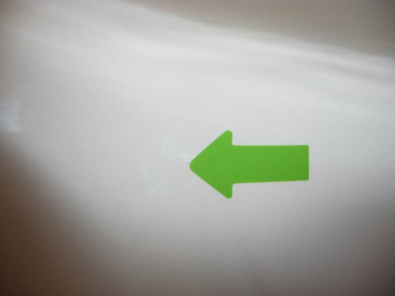 Waschtisch indisch elfenbein Nobless Slime Line 60 Pickel