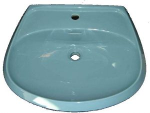 Waschtisch Pozzi 61x50 cm bermudablau