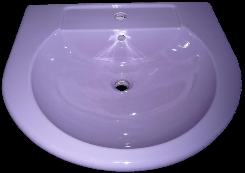 Waschtisch lilac in Altfarbe lilac
