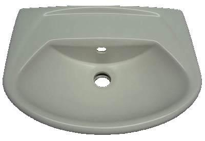 Handwaschbecken 45cm Villeoy&Boch Omnia 732645 edelweiß
