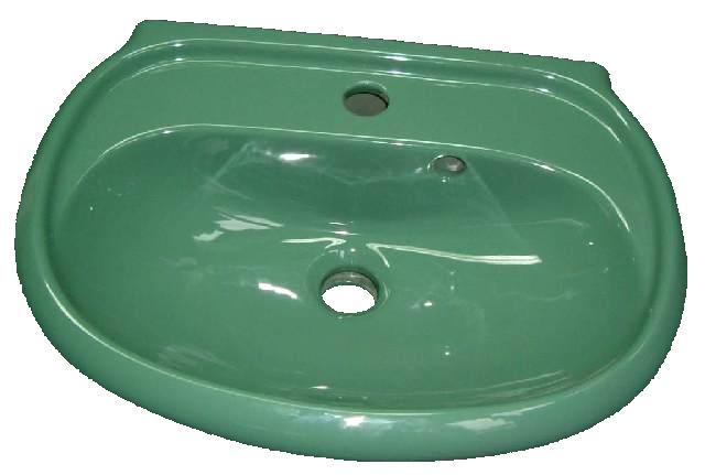 Handwaschbecken Keramag MANGO 273550 in der Farbe mento 50cm breit