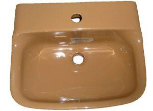 Handwaschbecken Ideal Standard Tonca in Altfarbe bernstein 45x36,5 cm