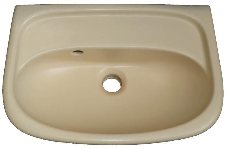 Handwaschbecken Keramag in Auslauffarb vanille