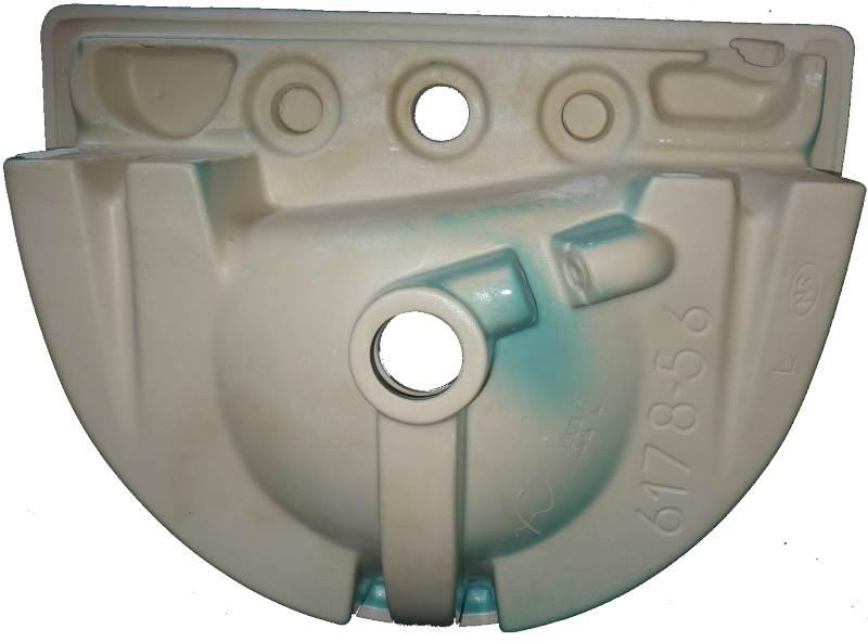 Helios-Einbau-Waschtisch-56 cm in Altfarbe calypso