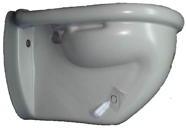 Wand-Flachspül-WC VILLEROY&BOCH Magnum in Altfarbe flanell