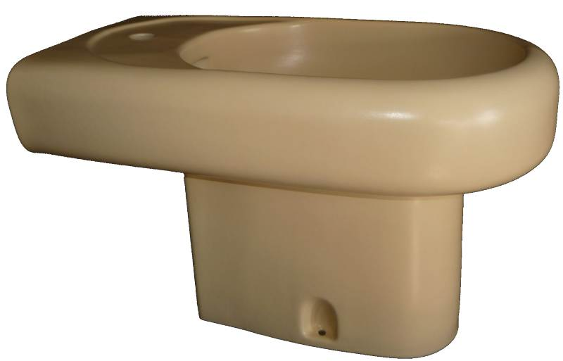 Stand-Bidet Keramag Courreges in Farbe vanille