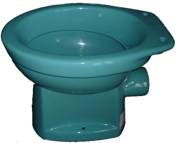 Stand-WC-Abgang-Aussen waagerecht Villeroy und Boch Serie Omnia-classic in Altfarbe calypso