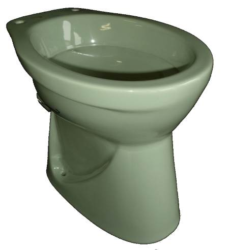 Stand-WC-V+B-Flachspüler-in evergreen