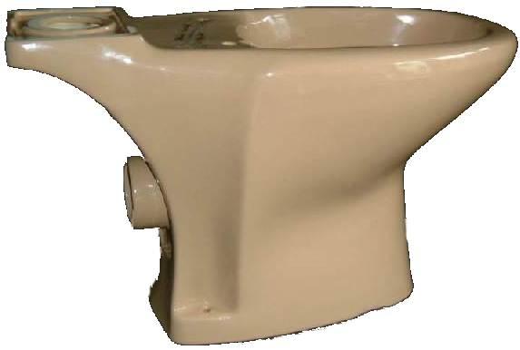 Stand WC Kombination Villeroy und Boch Planos ohne Spülkasten 2.Wahl in Altfarbe caramel