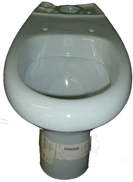 Stand-WC Kombination Villeroy und Boch Vialla in Auslauffarbe capri (ohne Spülkasten)