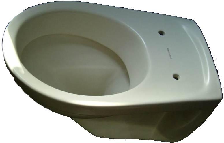 Wand-WC V+B-Omnia 7682 in Farbe jasmin