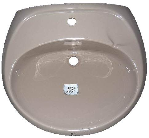 Waschbecken Ideal StandardI RONSAL 70051 in kaschmirbeige