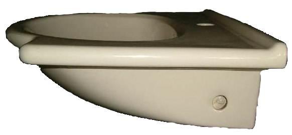 """Waschtisch V&B DIANE 6110 65 cm breite in Farbe """"natura"""""""
