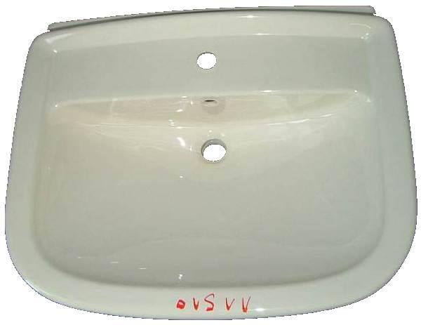 Waschbecken Villeroy und Boch MAGNUM 7133 in der Farbe pergamon Neue Form
