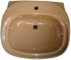 Waschtisch Ideal Standard INGA 60 x50 cm in Altfarbe bernstein