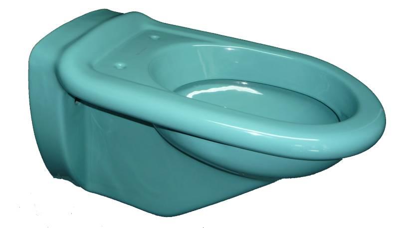 Wand-Tiefspül-WC Villeroy-und-Boch Serie Magnum in Auslauffarbe calypso