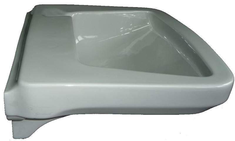 Waschtisch Ideal-Standard platingrau 58 cmWaschtisch Ideal-Standard platingrau 58 cm