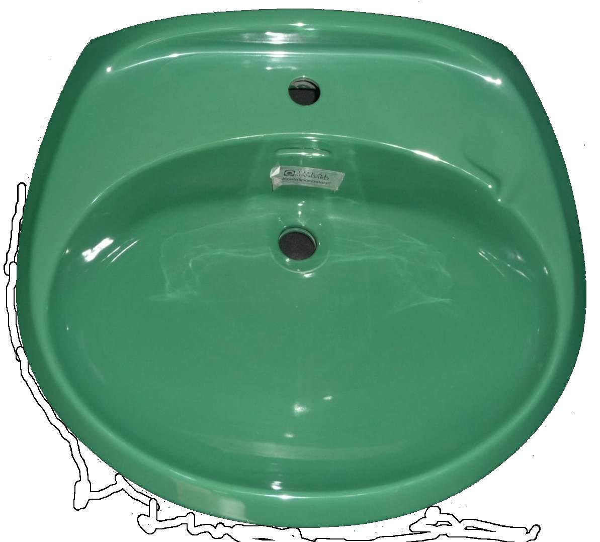 Ideal Standard RONSAL Waschbecken in schilfgrün