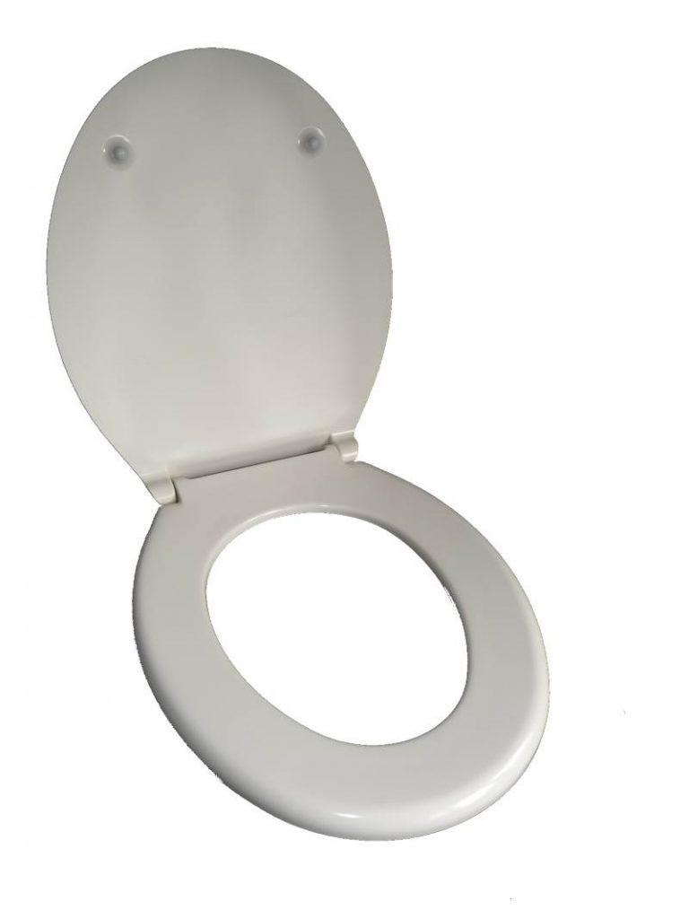 WC Sitz Pagette jasmin offen