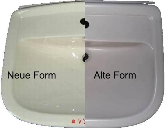 Magnum Waschtisch Unterschied alte und neue Form