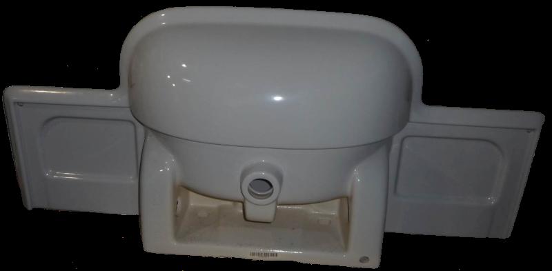 Villeroy und Boch MAGNUM Möbelwaschbecken 119 cm in Altfarbe manhattan Unterseite