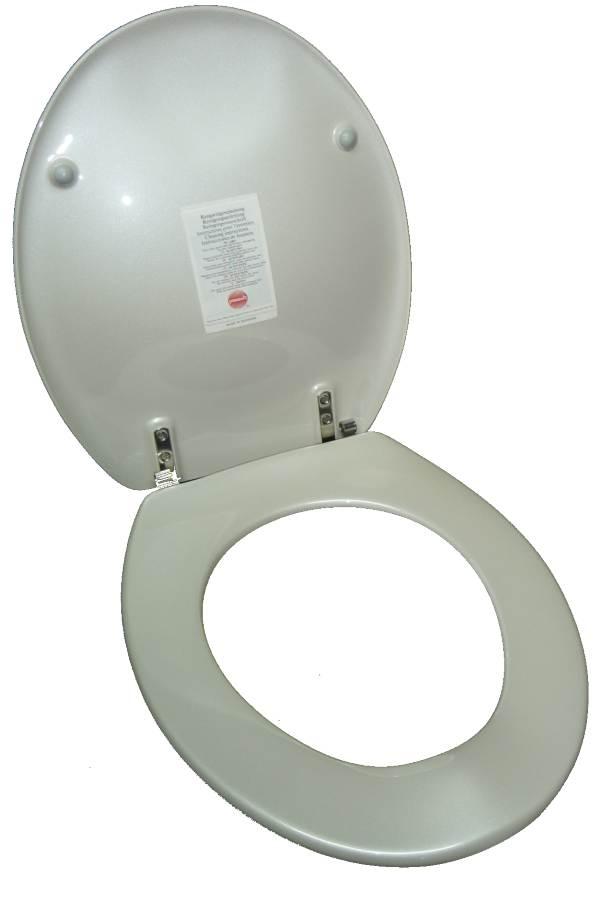 WC-Sitz alba Pressalit Scandianvia geöffnet