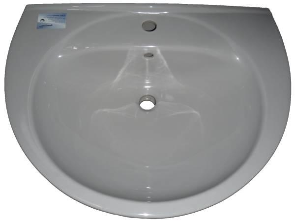 manhattan Waschtisch Keramag Felino 70x54cm Bild 1