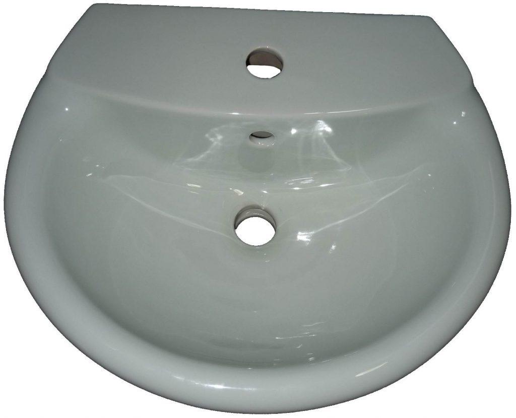 ägäis Handwaschwecken 48x38 Ideal Standard Kimera mit Halbsäule Bild 1