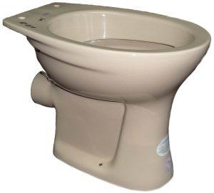bahamabeige Stand-WC Keramag Renova Flachspüler Bild 1