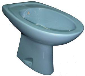 bermudablau Stand-Bidet 57x35 cm Bild 1