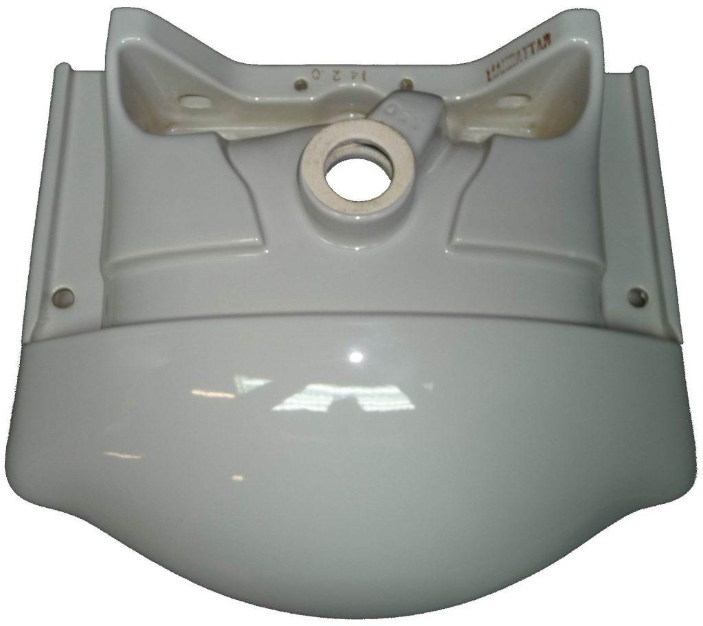 manhattan Möbel-Waschtisch 55x45 cm Ideal-Standard Isabella 550 Bild 2 Unterseite