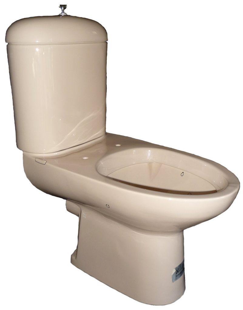 bahamabeige Stand-WC-Kombination Ideal-Standard INGA mit Spülkasten Bild 1
