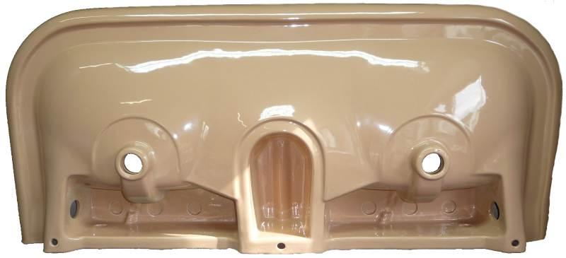caramel Doppel-Waschtisch 132x56cm Keramag Coureges 259100 Bild 2 von unten #18-134