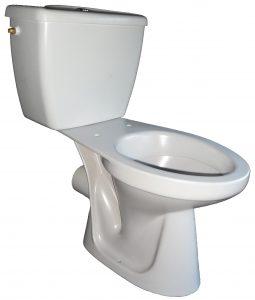 flanell Stand-Klosett-Kombination Bild 1