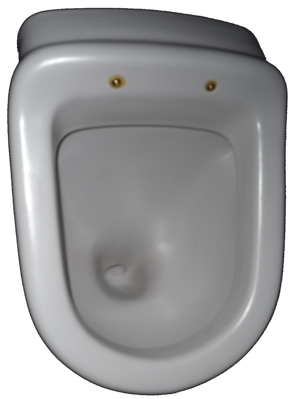 flanell Urinal Villeroy und Boch Magnum 751001 Zulauf hinten Bild 1