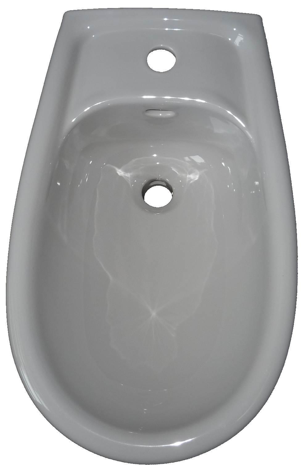 manhattan Wand-Bidet 58x35 cm Keramag Renova 2345 Bild 2