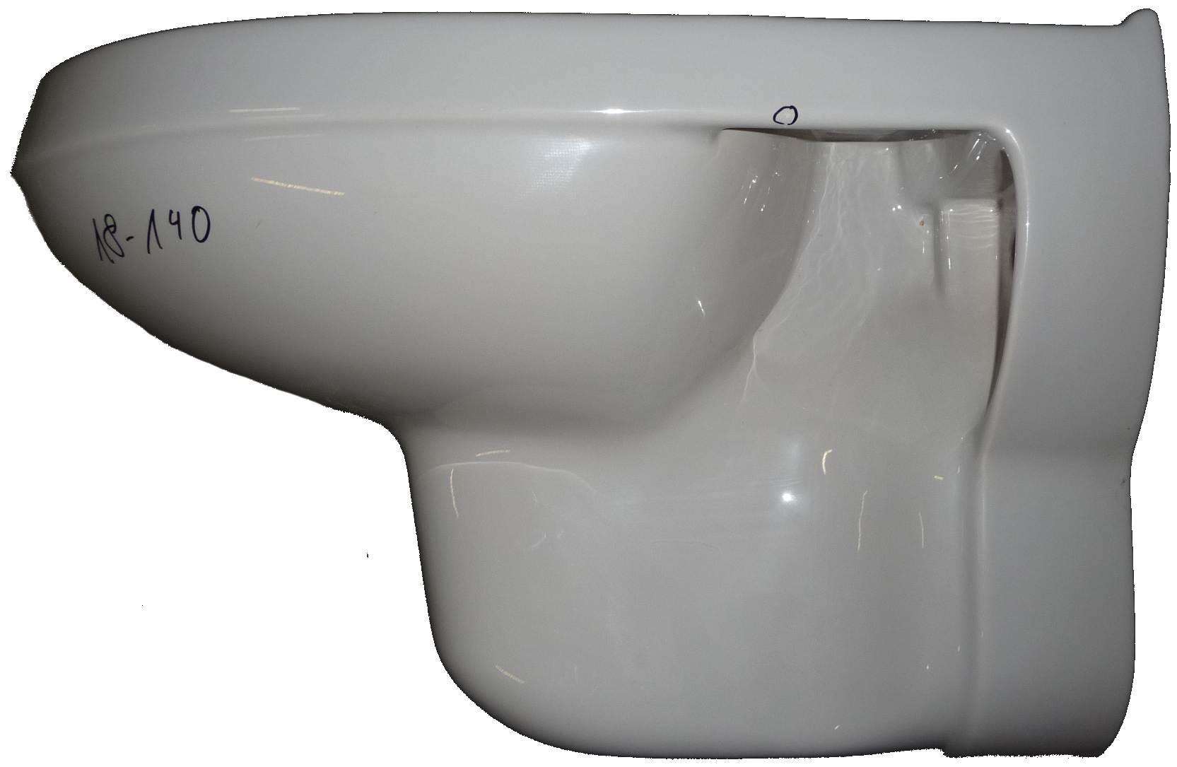 manhattan Wand-WC 56x34 cm Ideal-Standard Noblesse Bild 3 mit Beschädigung