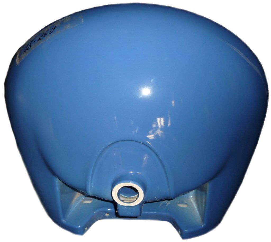 sorrentoblau Waschtisch 70x58cm Ideal Standard Ron Royale 90070 Bild 2 Unterseite
