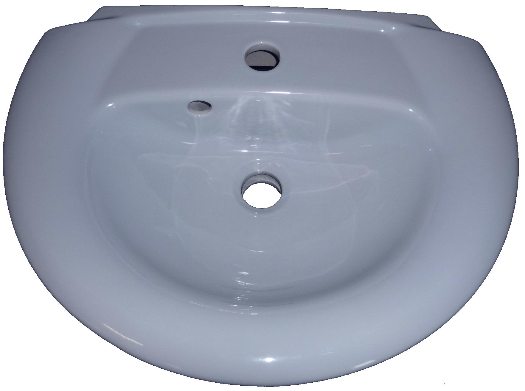 whisperblau Handwaschbecken 50x38 cm Ideal Standard Tizio 4233 Bild 1