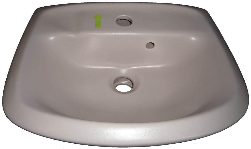stella Handwaschbecken 45x34 cm Villeroy und Boch Planos 733045 Bild 1