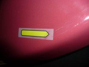 rubinrot Waschbecken Ideal Standard RONMIL Fehlerstelle 1