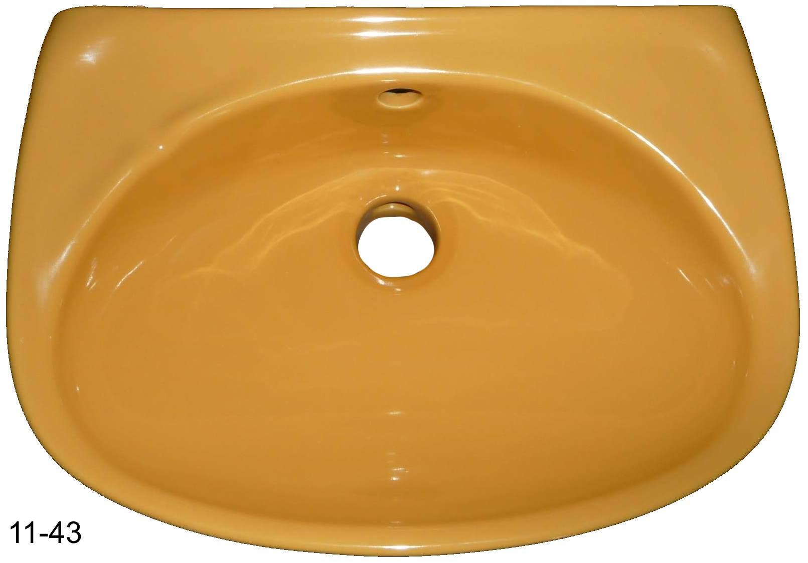 curry Handwaschbecken 35x26 cm Duravit #11-43 von oben
