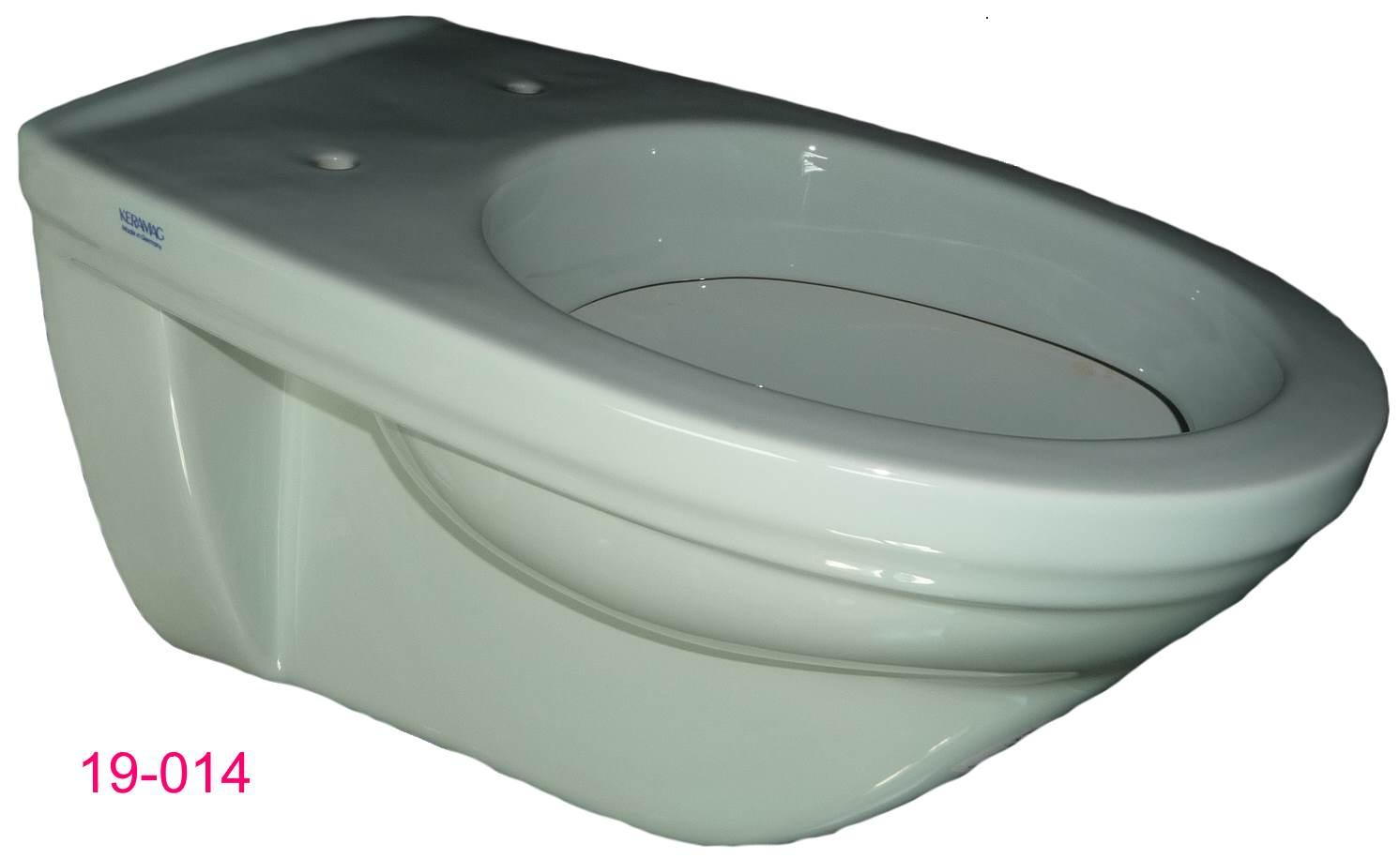 ägäis Wand-Flachspül-WC Keramag FELINO Seitenansicht 2
