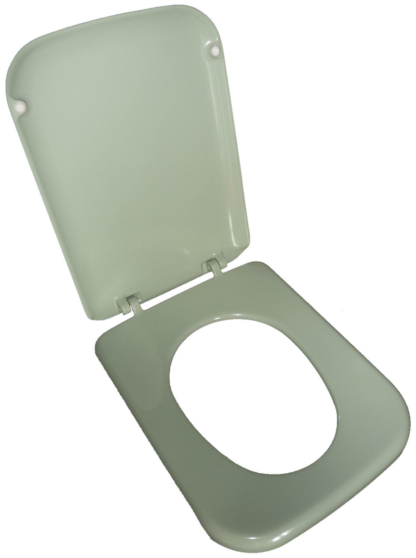 kaspischgrün WC-Sitz Tonca geöffnet