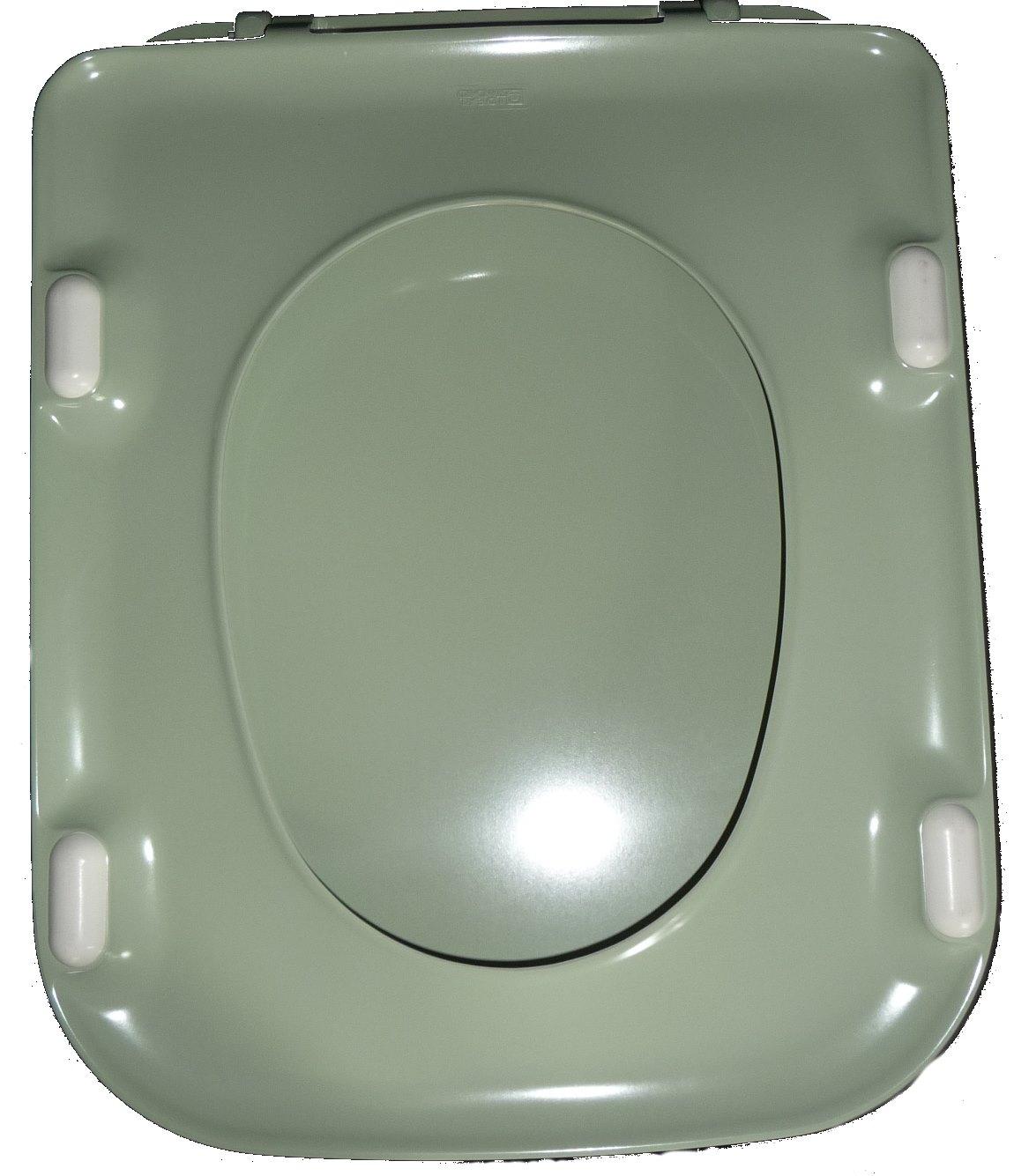 kaspischgrün WC-Sitz Tonca von unten
