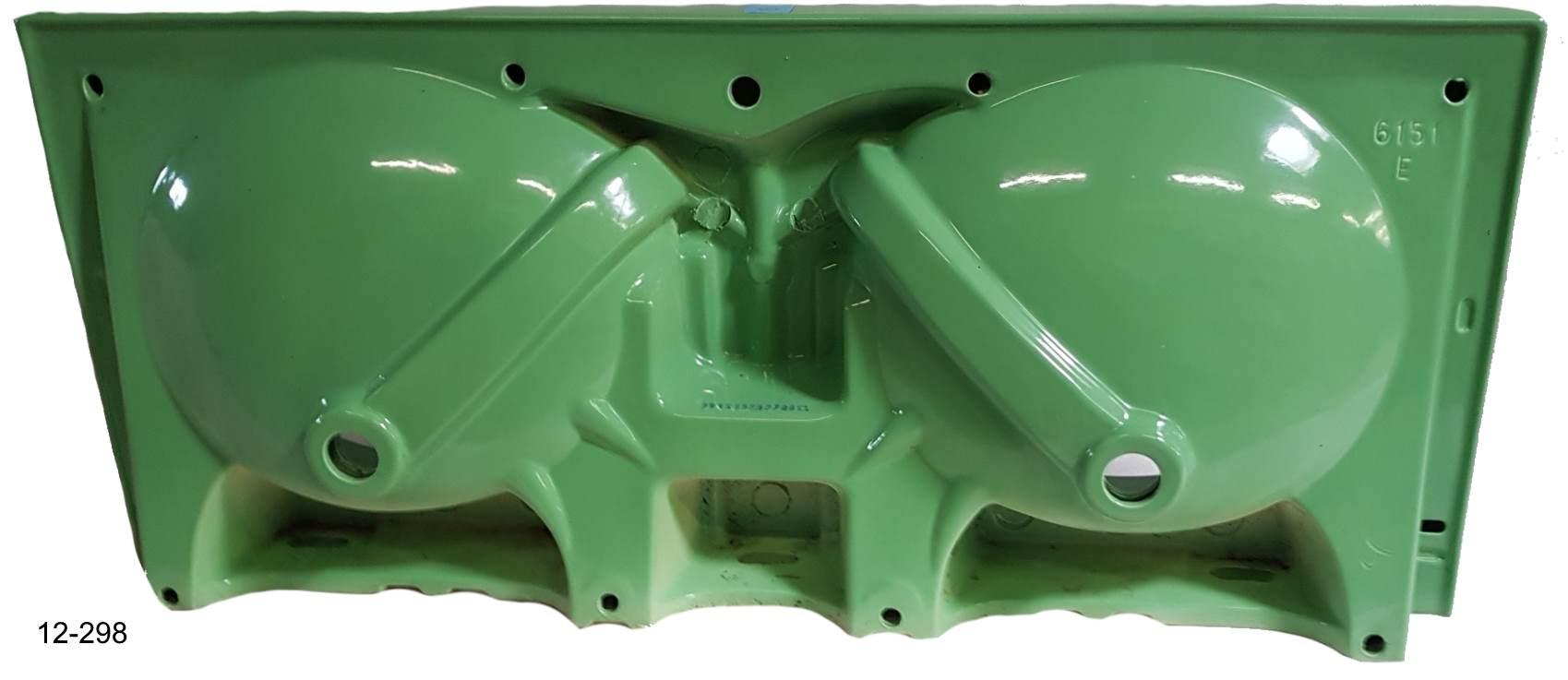 oasis Doppel-Waschtisch 130x55 cm Villeroy und Boch Carine #12-298 Unterseite