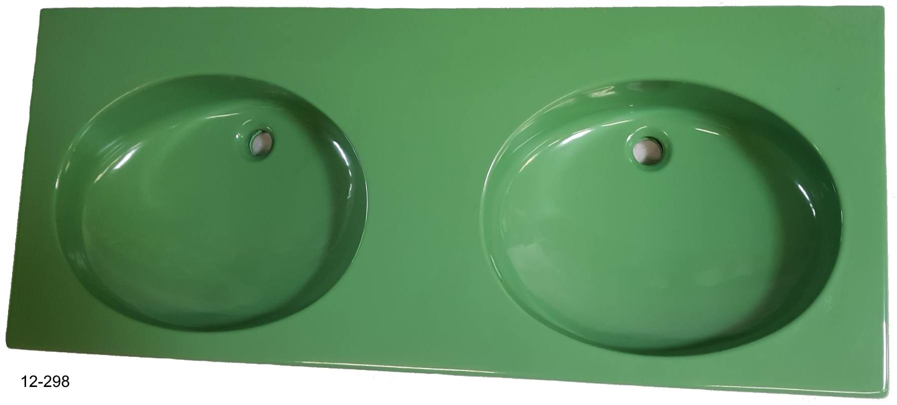 oasis Doppel-Waschtisch 130x55 cm Villeroy und Boch Carine #12-298