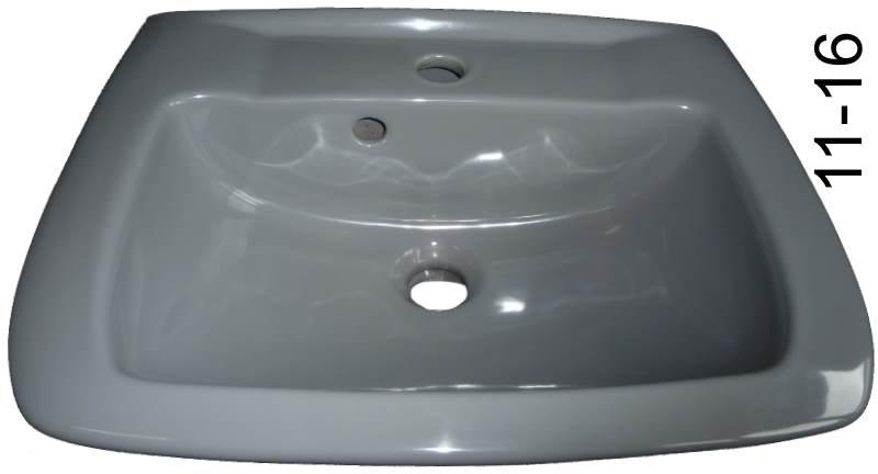 Handwaschbecken in pearl (grau) 50 cm breit